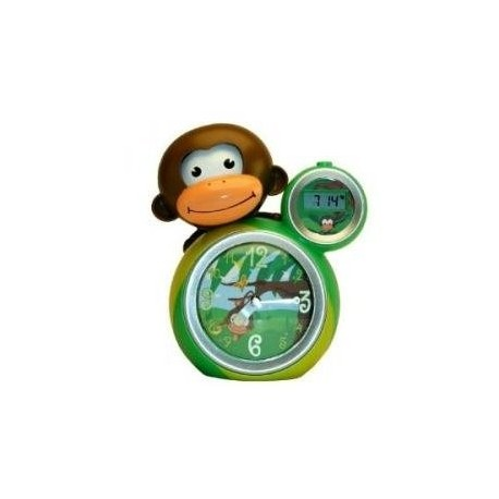 Baby Zoo Monkey Sleeptrainer Green/Yellow