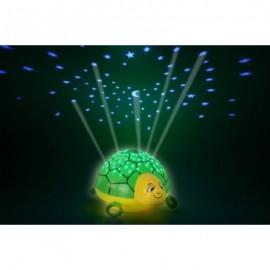 Childrens nightlight Turtle LED star galaxy projector
