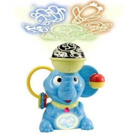Lexibook Elephant Night Light with Interactive Projector