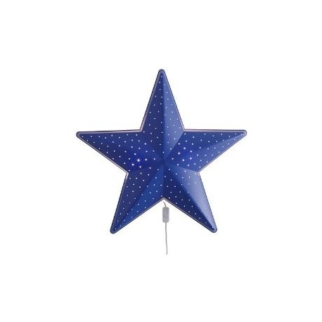 Ikea childrens blue star wall lamp childrens night lights 4u ikea childrens blue star wall lamp mozeypictures Images