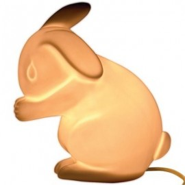 White Rabbit Children's Lamp