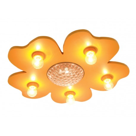 Niermann Standby Happy-Flower 773 Ceiling Light with LED Colour Change Projector