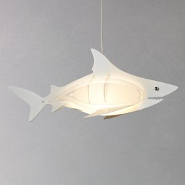 Little Home at John Lewis Easy-to-fit Shark Ceiling Pendant Shade