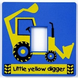 Little Digger Light Switch Cover