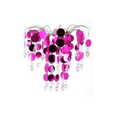 Chic' Retro Hot Pink Chandelier
