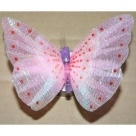 Colour Changing Spotted Soft Pink Magic Butterfly Light
