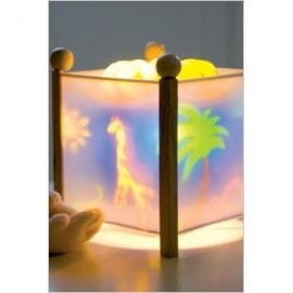 Trousselier Jungle Animals Rotating Lantern Night Light
