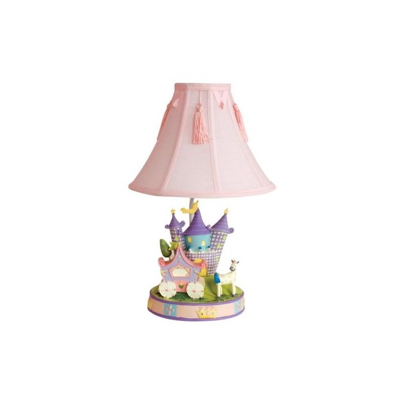 Childrens Wall Lamp Shades : Kids Line Camelot Low Voltage Lamp Base and Shade Set - Children s Night Lights 4U - Bedside ...