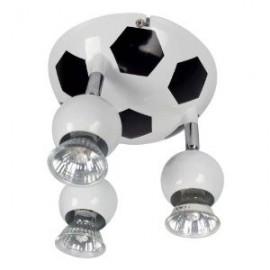 Alpha 3 Light Football Spotlight, Black And White