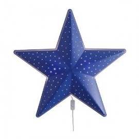 IKEA Children's Blue Star Wall Lamp