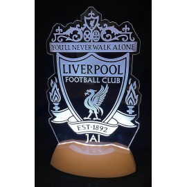 Liverpool FC Table Light for Bedroom