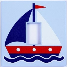 Sail Boat Light Switch Cover
