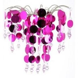 Chic' Retro Hot Pink Chandelier