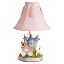 Kids Line Camelot Low Voltage Lamp Base and Shade Set